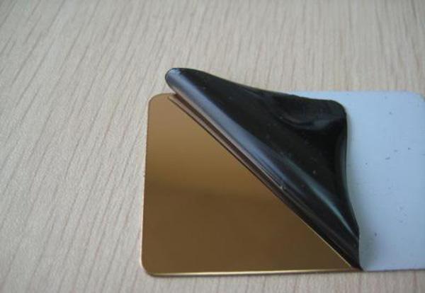 彩色不锈钢板贴膜注意事项