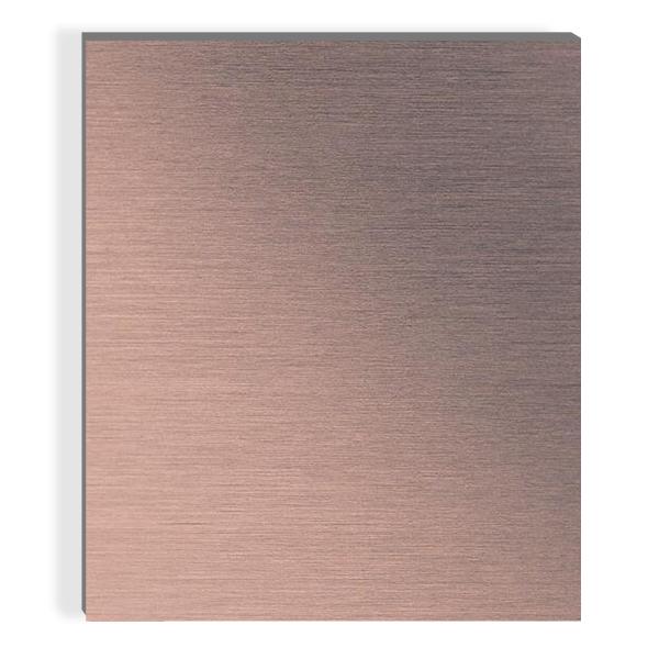 古铜金色不锈钢板